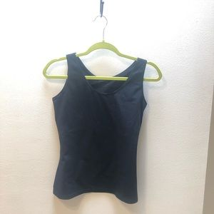Black Spanx In & Out Tank